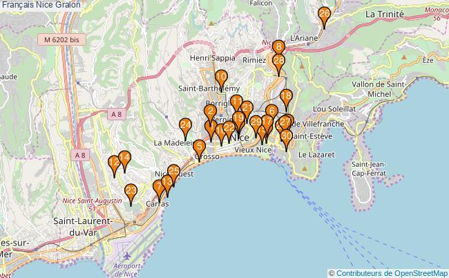 plan Français Nice Associations français Nice : 184 associations