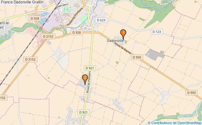 plan France Dadonville Associations France Dadonville : 2 associations