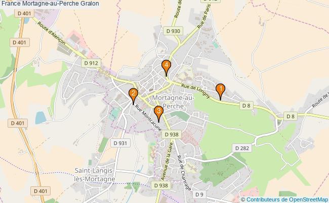 plan France Mortagne-au-Perche Associations France Mortagne-au-Perche : 4 associations