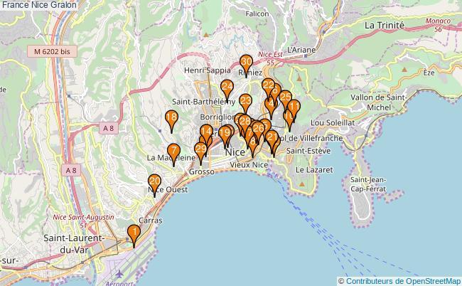 plan France Nice Associations France Nice : 532 associations