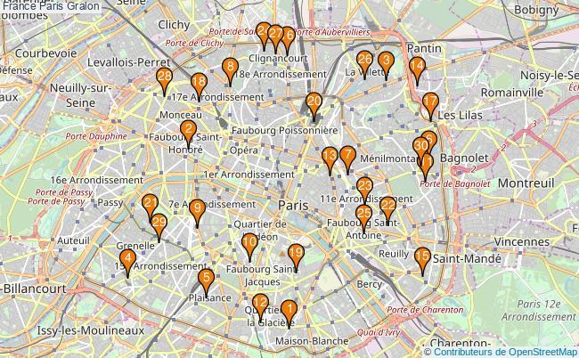 plan France Paris Associations France Paris : 9020 associations
