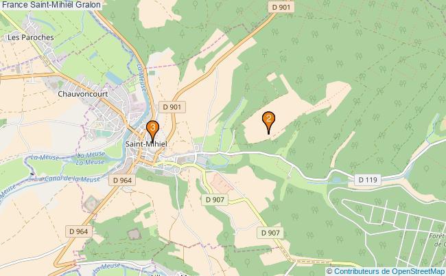 plan France Saint-Mihiel Associations France Saint-Mihiel : 3 associations
