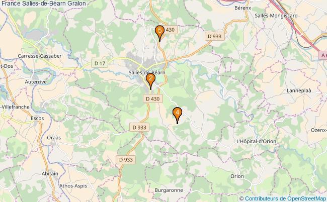 plan France Salies-de-Béarn Associations France Salies-de-Béarn : 4 associations
