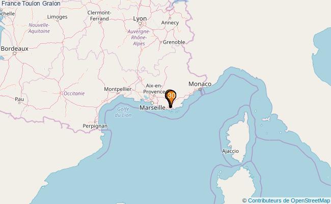plan France Toulon Associations France Toulon : 169 associations