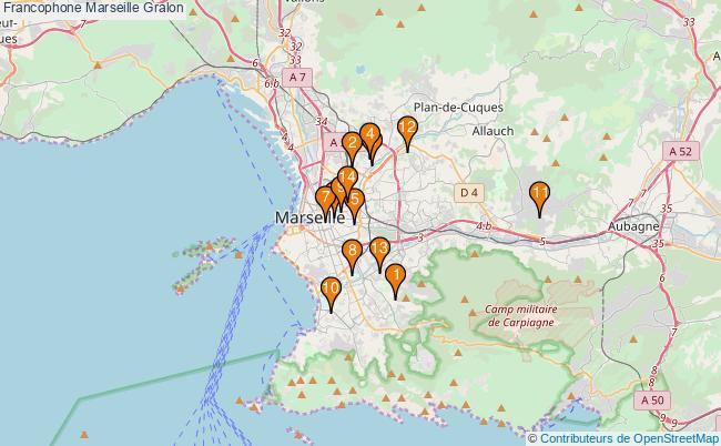 plan Francophone Marseille Associations francophone Marseille : 14 associations