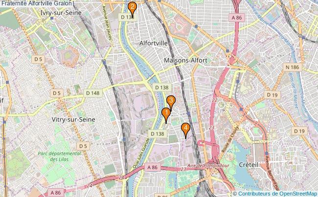 plan Fraternité Alfortville Associations fraternité Alfortville : 4 associations