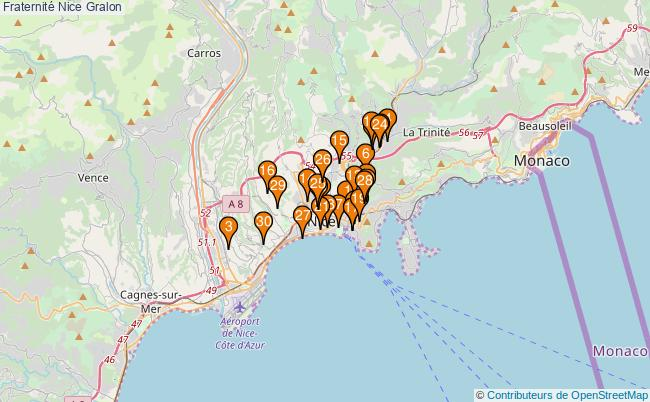 plan Fraternité Nice Associations fraternité Nice : 57 associations