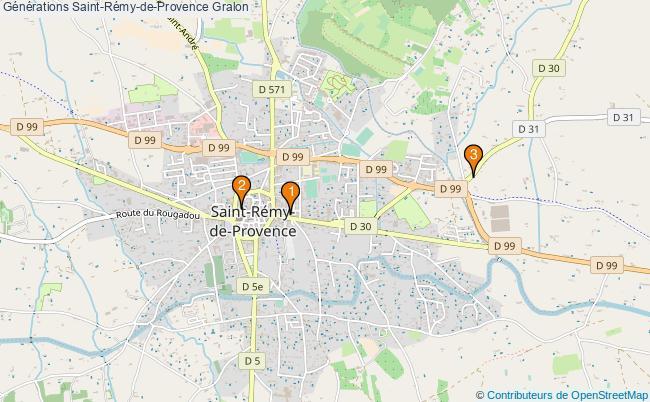 plan Générations Saint-Rémy-de-Provence Associations Générations Saint-Rémy-de-Provence : 3 associations