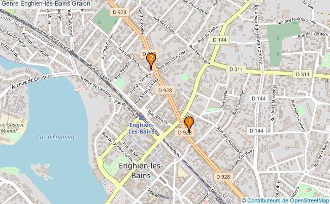 plan Genre Enghien-les-Bains Associations genre Enghien-les-Bains : 2 associations