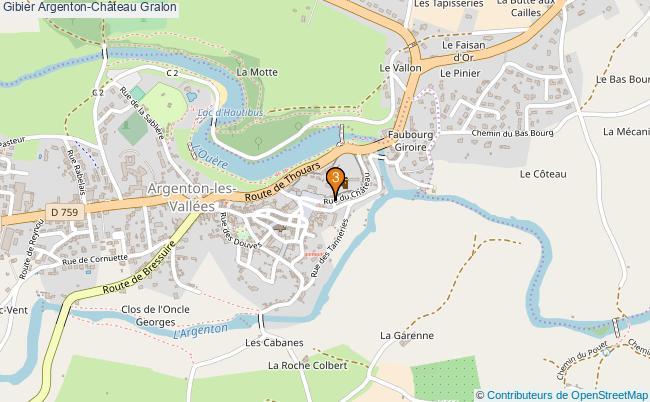 plan Gibier Argenton-Château Associations gibier Argenton-Château : 3 associations