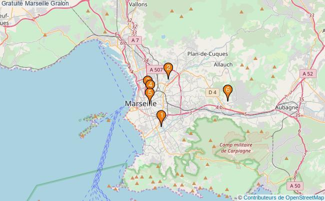 plan Gratuité Marseille Associations gratuité Marseille : 5 associations