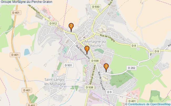 plan Groupe Mortagne-au-Perche Associations groupe Mortagne-au-Perche : 3 associations