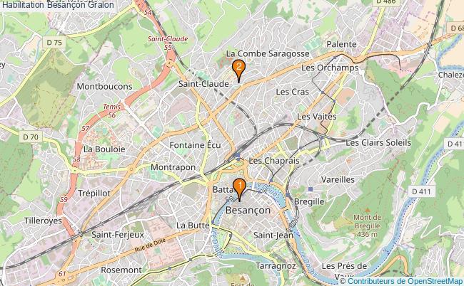 plan Habilitation Besançon Associations habilitation Besançon : 2 associations