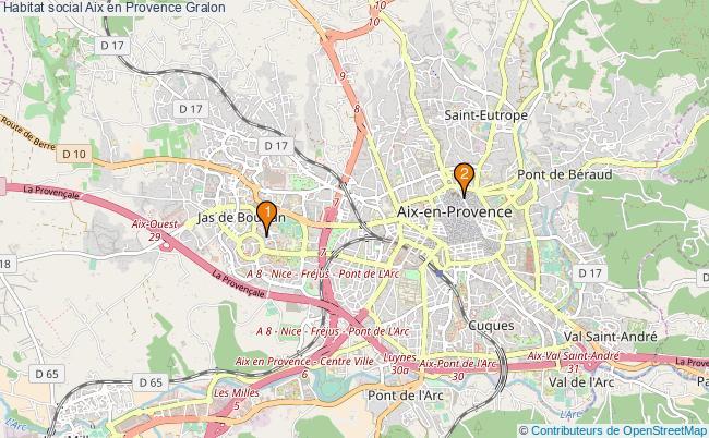plan Habitat social Aix en Provence Associations habitat social Aix en Provence : 2 associations