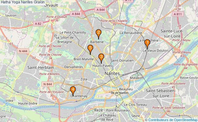 plan Hatha Yoga Nantes Associations Hatha Yoga Nantes : 4 associations