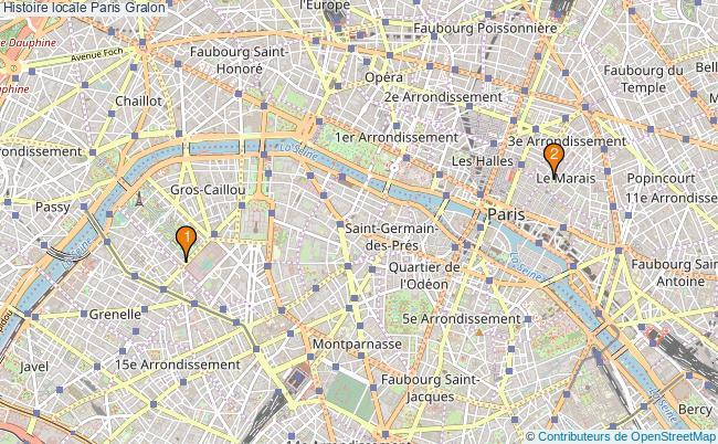 plan Histoire locale Paris Associations histoire locale Paris : 2 associations