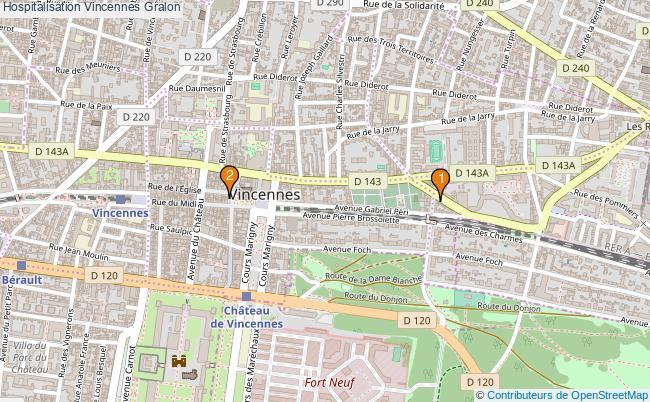 plan Hospitalisation Vincennes Associations hospitalisation Vincennes : 3 associations