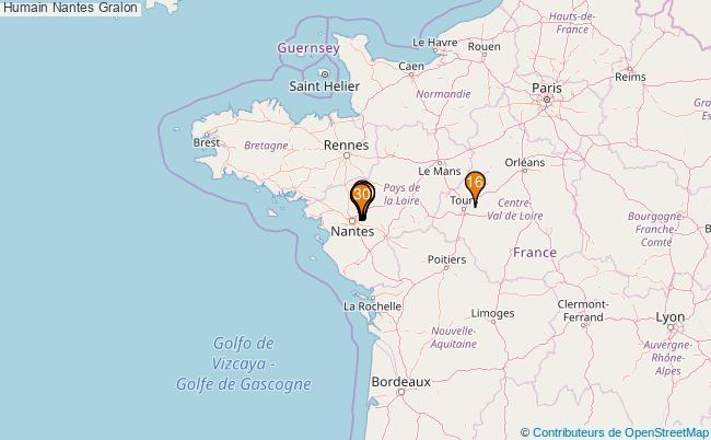 plan Humain Nantes Associations Humain Nantes : 44 associations