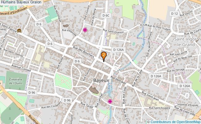 plan Humains Bayeux Associations Humains Bayeux : 3 associations