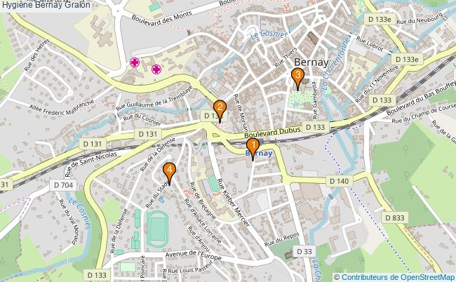 plan Hygiène Bernay Associations hygiène Bernay : 4 associations