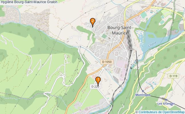 plan Hygiène Bourg-Saint-Maurice Associations hygiène Bourg-Saint-Maurice : 2 associations