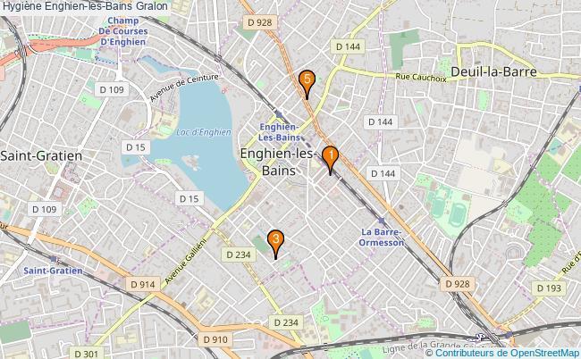 plan Hygiène Enghien-les-Bains Associations hygiène Enghien-les-Bains : 5 associations