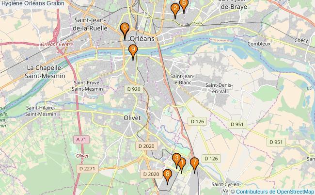 plan Hygiène Orléans Associations hygiène Orléans : 10 associations