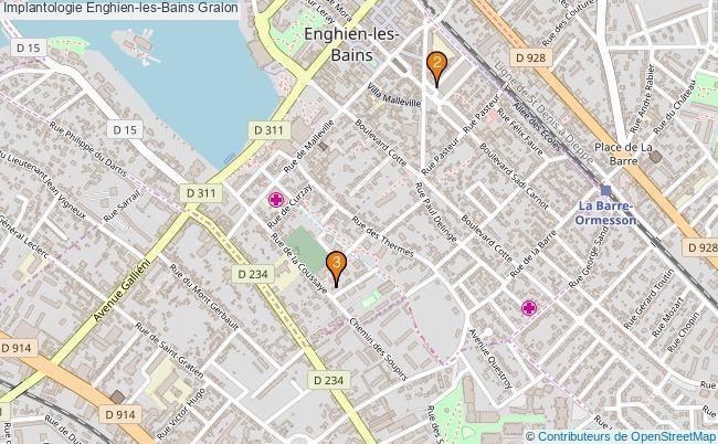 plan Implantologie Enghien-les-Bains Associations implantologie Enghien-les-Bains : 3 associations