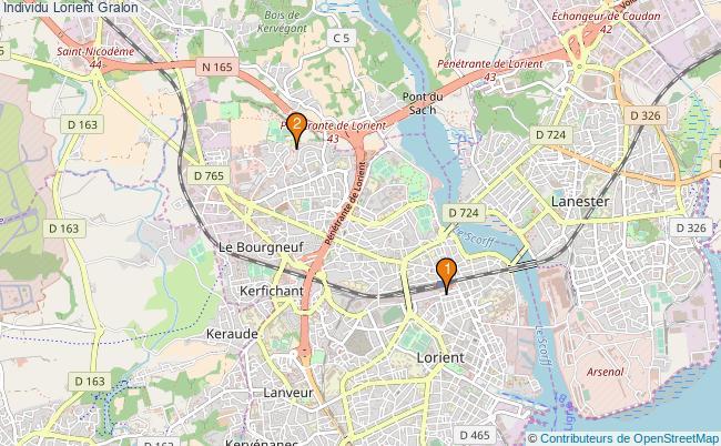 plan Individu Lorient Associations Individu Lorient : 2 associations