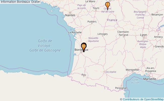 plan Information Bordeaux Associations information Bordeaux : 359 associations
