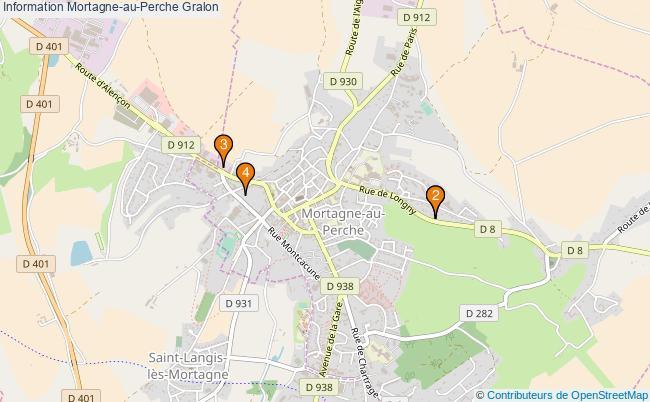plan Information Mortagne-au-Perche Associations information Mortagne-au-Perche : 4 associations