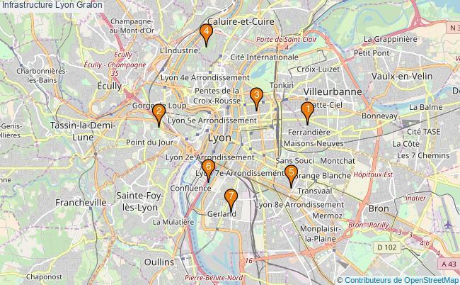 plan Infrastructure Lyon Associations infrastructure Lyon : 7 associations
