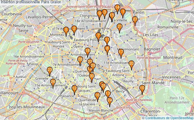 plan Insertion professionnelle Paris Associations Insertion professionnelle Paris : 441 associations