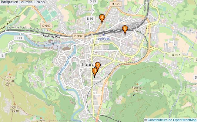 plan Intégration Lourdes Associations intégration Lourdes : 6 associations