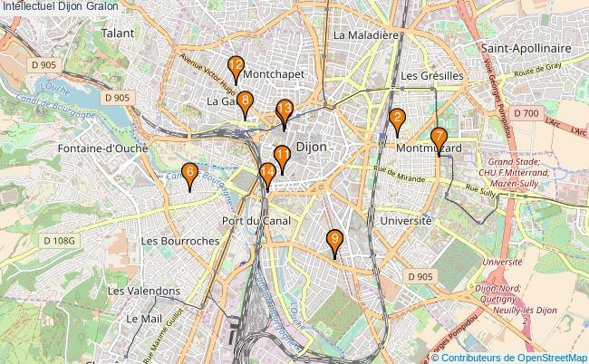 plan Intellectuel Dijon Associations intellectuel Dijon : 15 associations