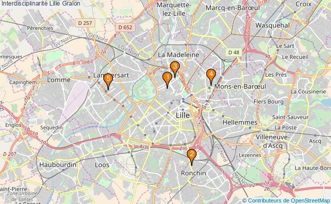 plan Interdisciplinarité Lille Associations interdisciplinarité Lille : 5 associations