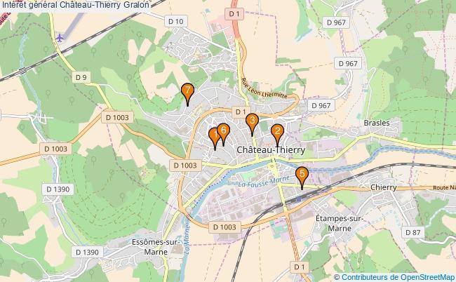 plan Intérêt général Château-Thierry Associations intérêt général Château-Thierry : 7 associations