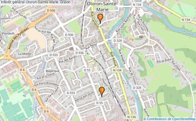 plan Intérêt général Oloron-Sainte-Marie Associations intérêt général Oloron-Sainte-Marie : 2 associations