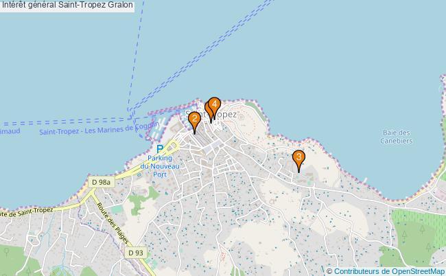 plan Intérêt général Saint-Tropez Associations intérêt général Saint-Tropez : 4 associations