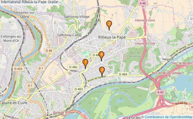 plan International Rillieux-la-Pape Associations International Rillieux-la-Pape : 4 associations