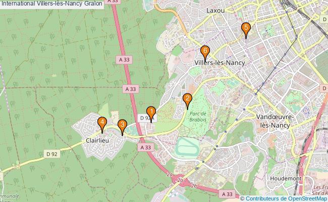 plan International Villers-lès-Nancy Associations International Villers-lès-Nancy : 5 associations