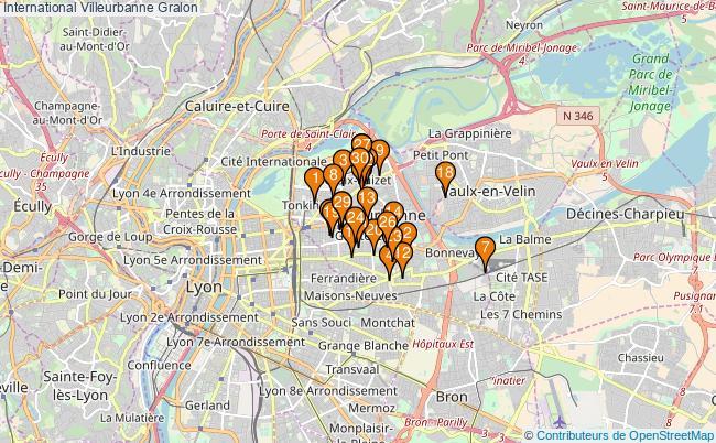 plan International Villeurbanne Associations International Villeurbanne : 54 associations