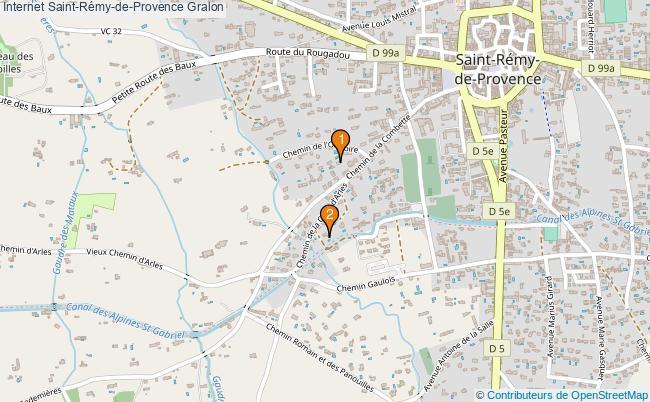 plan Internet Saint-Rémy-de-Provence Associations Internet Saint-Rémy-de-Provence : 2 associations