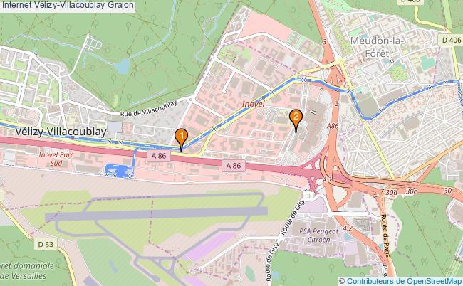 plan Internet Vélizy-Villacoublay Associations Internet Vélizy-Villacoublay : 5 associations