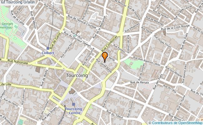 plan Iut Tourcoing Associations iut Tourcoing : 7 associations