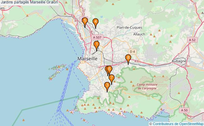 plan Jardins partagés Marseille Associations jardins partagés Marseille : 8 associations