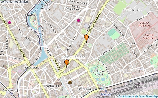 plan Joffre Nantes Associations Joffre Nantes : 4 associations