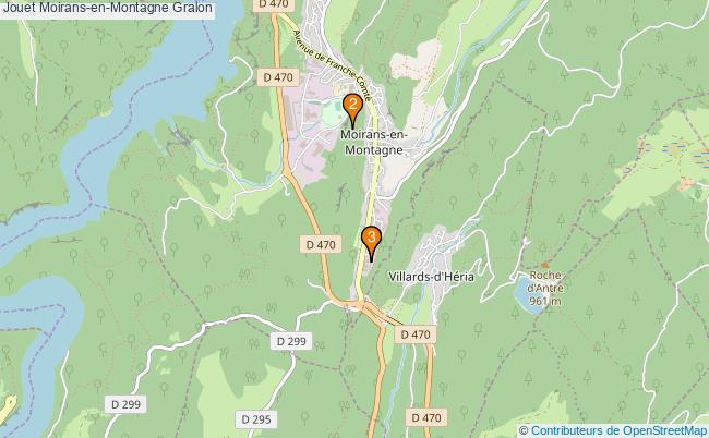 plan Jouet Moirans-en-Montagne Associations jouet Moirans-en-Montagne : 3 associations