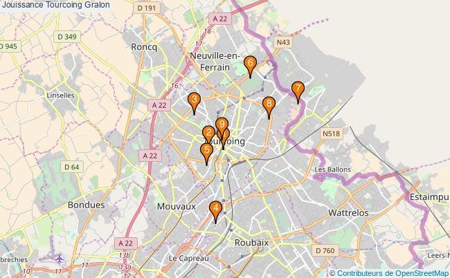 plan Jouissance Tourcoing Associations Jouissance Tourcoing : 9 associations