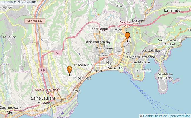 plan Jumelage Nice Associations jumelage Nice : 3 associations